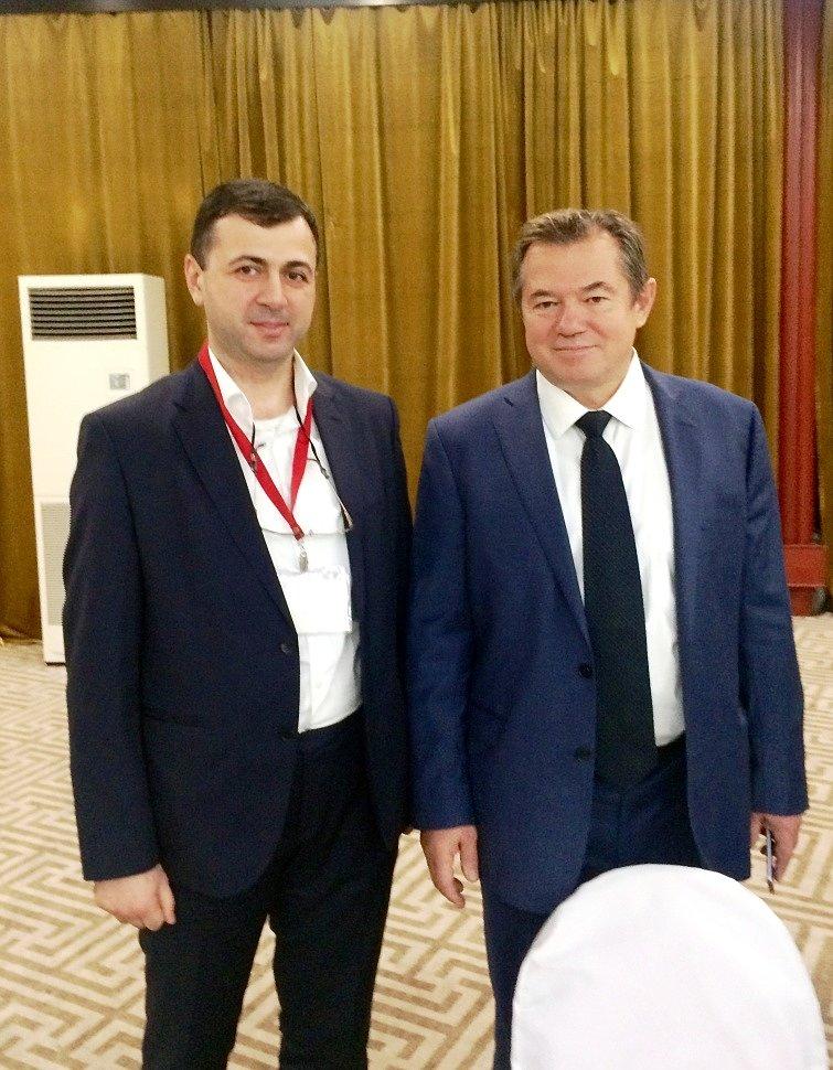 Вдохновитель и организатор форума академик С. Ю. Глазьев